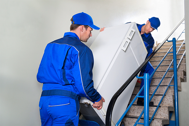 перевозка холодильника грузчиками